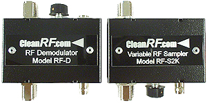 Splatter View 2k - RF-Sampler / RF-Demodulator